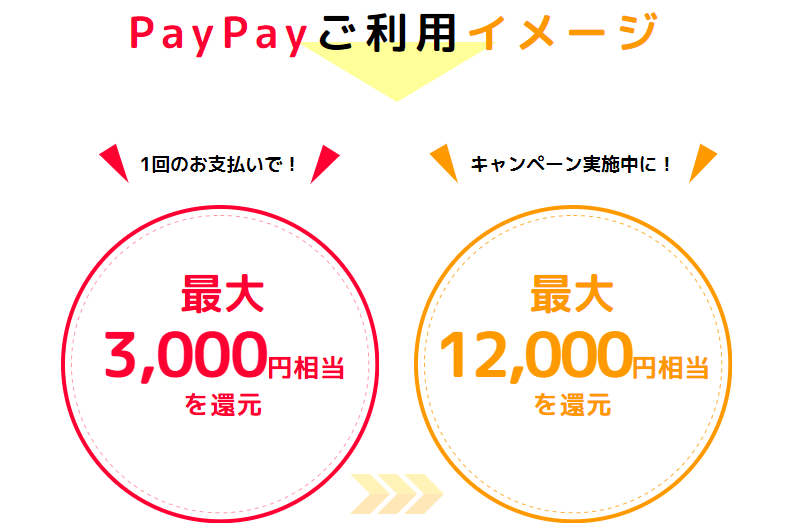 PayPayご利用イメージ